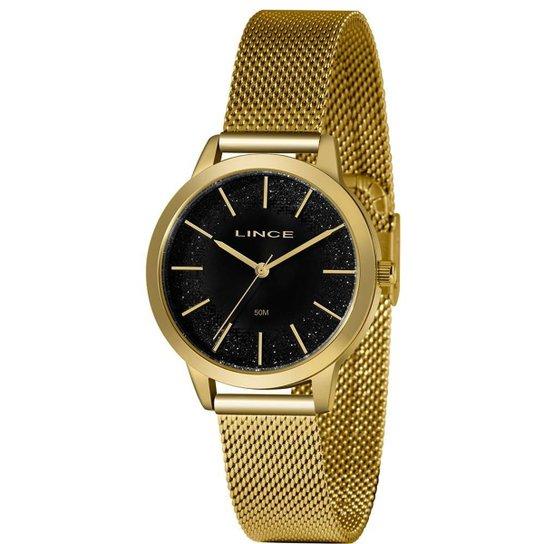 Relógio Lince Feminino Urban Dourado LRG4678L-P1KX - Dourado