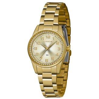 Relógio Lince Feminino Urban Dourado LRGJ109L-C2KX