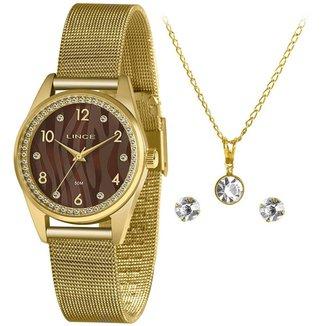 Relógio Lince Feminino Urban Dourado LRGJ137L-KZ49N2KX