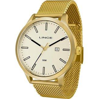 Relógio Lince Masculino Classic Dourado MRG4494L-C1KX