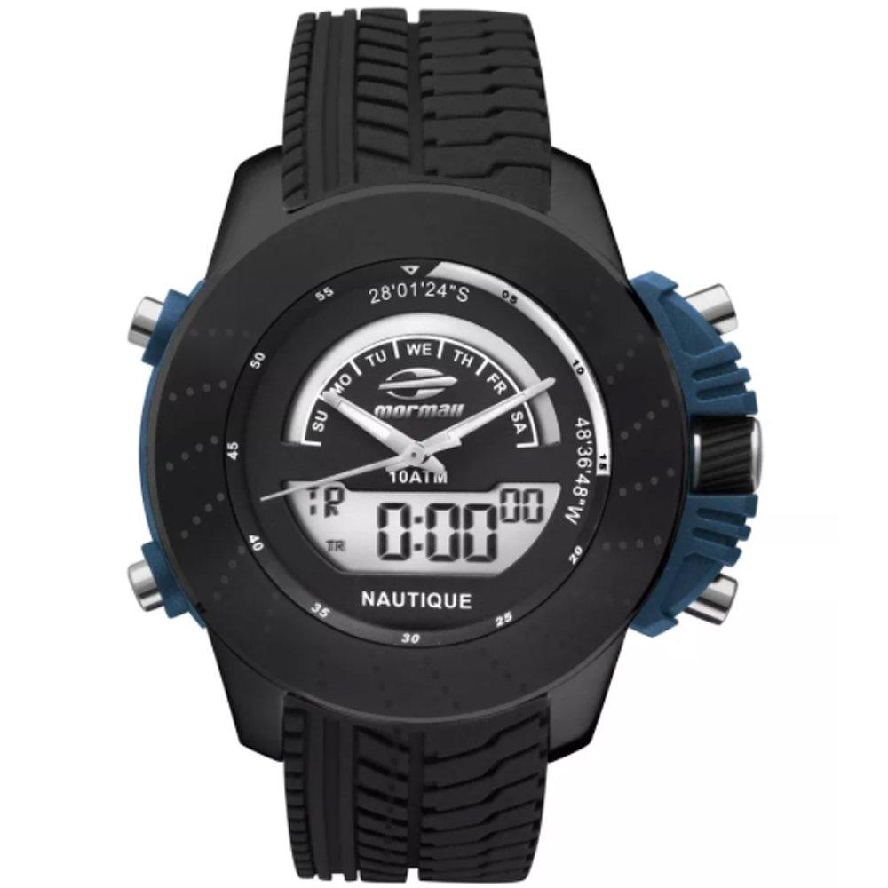 7b5596bc230bc Relógio Masculino Mormaii Premium Mova002 8P - Preto - Compre Agora ...