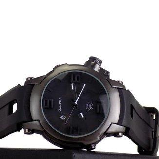 Relógio Masculino Orizom Quartz Pulseira De Silicone