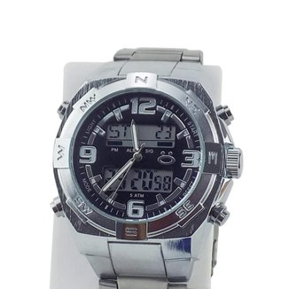 Relógio Masculino Orizom Spacemam Pulseira De Aço