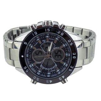 Relógio Masculino Orizom Spacemam Pulseira Em Aço
