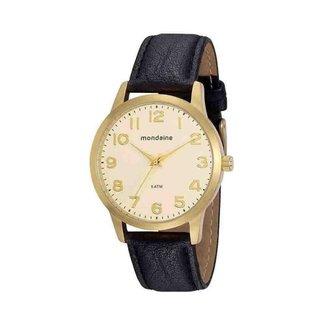 Relógio Masculino Social Preto Mondaine 76754GPMVDH4