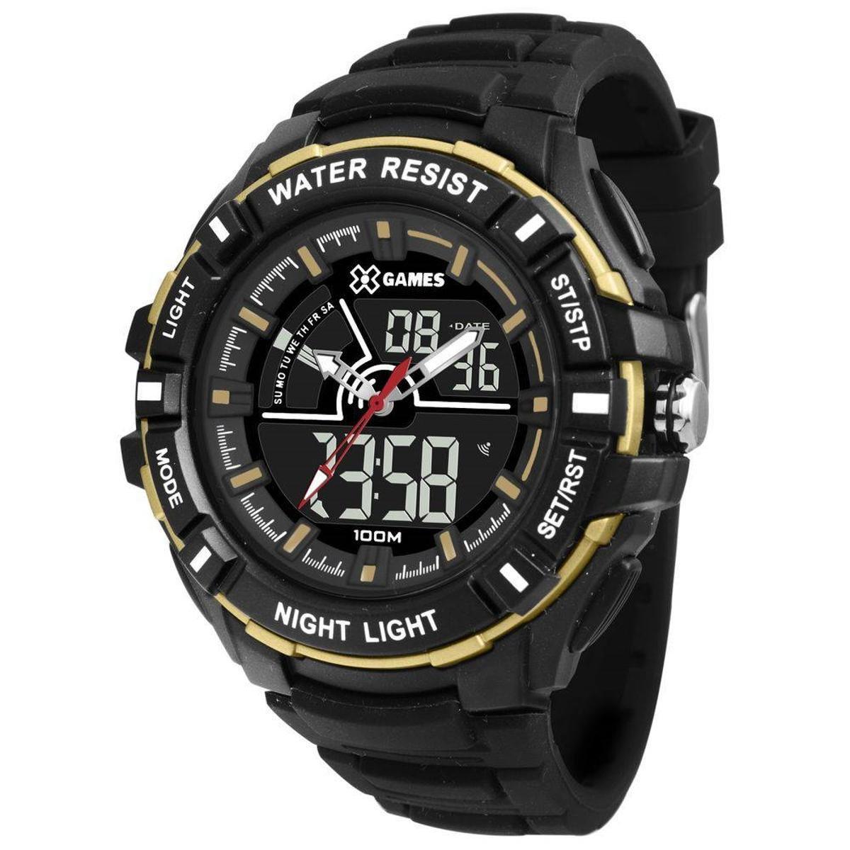 413980cc390 Relógio Masculino X-Games Anadigi Xmppa244 - Preto - Compre Agora ...