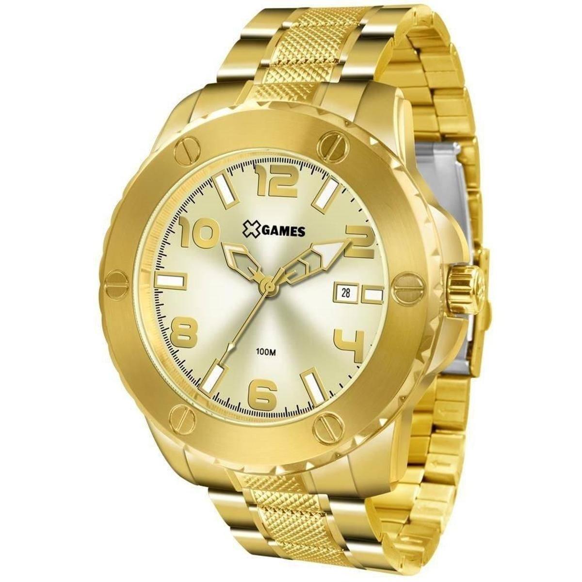 510ae480c1c Relógio Masculino X Games Xmgs1026 C2kx Big Case D - Dourado ...