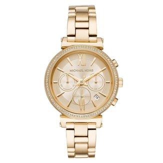 Relógio Michael Kors Feminino Essential Sofie Dourado - MK6559/1DN MK6559/1DN