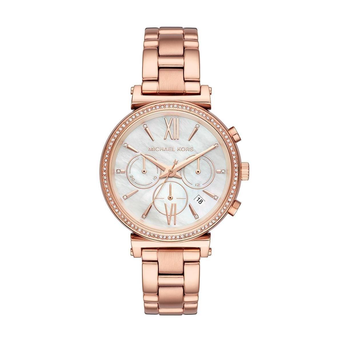edd4eb8f2ced9 Relógio Michael Kors Feminino Sofie - MK6576 1JN MK6576 1JN - Bronze - Compre  Agora   Zattini