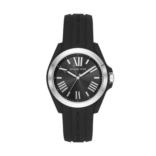 Relógio Michael Kors Masculino Bradshaw Bicolor - MK2729/8PN MK2729/8PN - Preto