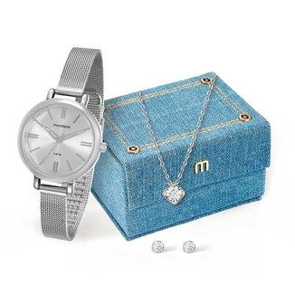 Relógio Mondaine Analógico 76616L0MVNE1K1 Feminino
