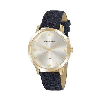 Relógio Mondaine Feminino Classic Dourado 32113LPMVDD2