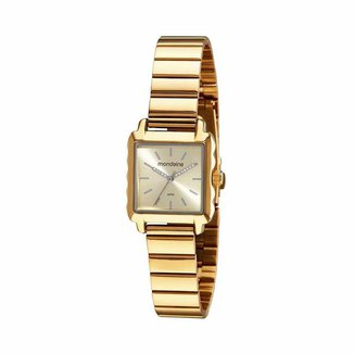 Relógio Mondaine Feminino Classic Dourado 32218LPMVDE1