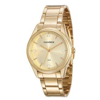 Relógio Mondaine Feminino Classic Dourado 53568LPMVDE1
