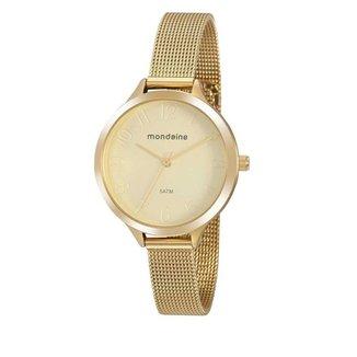Relógio Mondaine Feminino Classic Dourado 76770LPMVDE1