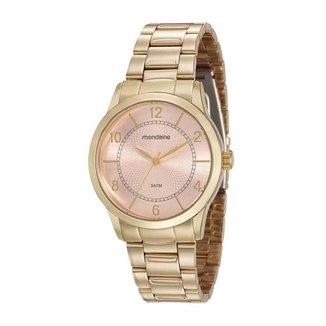 Relógio Mondaine Feminino Classic Dourado 99241LPMVDE1