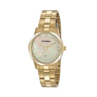 Relógio Mondaine Feminino Classic Dourado 99538LPMVDA1