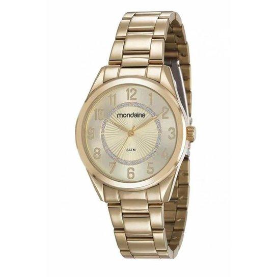 Relógio Mondaine Feminino - Dourado