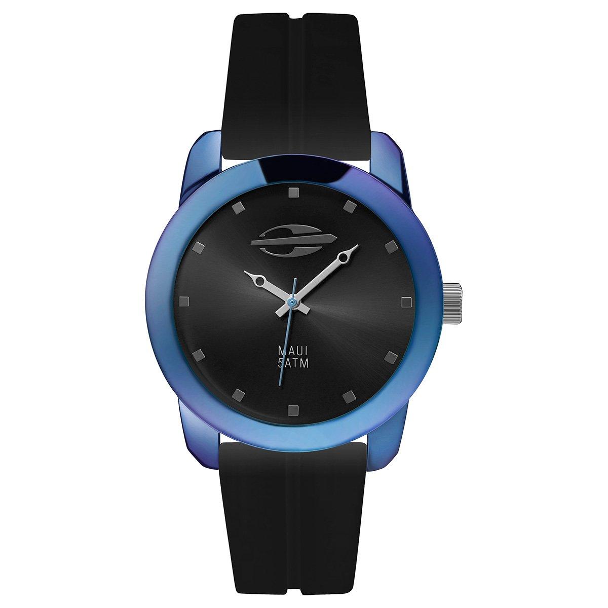 4b4045e3722 Relógio Mormaii Analógico MO2035HF-8K Feminino - Preto e Azul ...