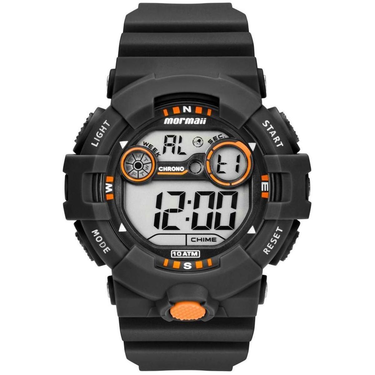 4167f9419b6 Relógio Mormaii Digital Acqua - Preto - Compre Agora