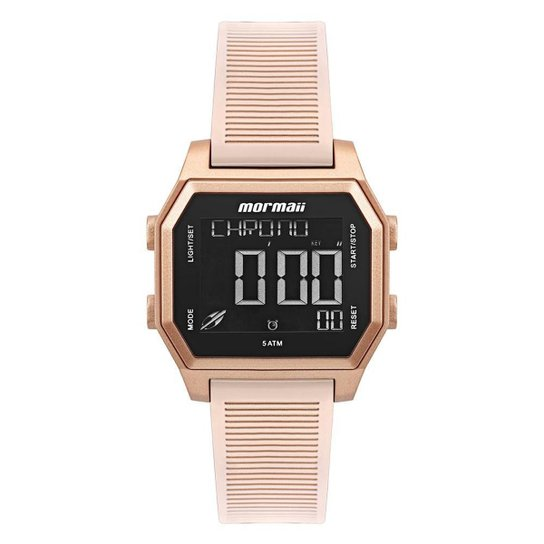 Relógio Mormaii Feminino Luau Dourado MO3124AE8J - Dourado