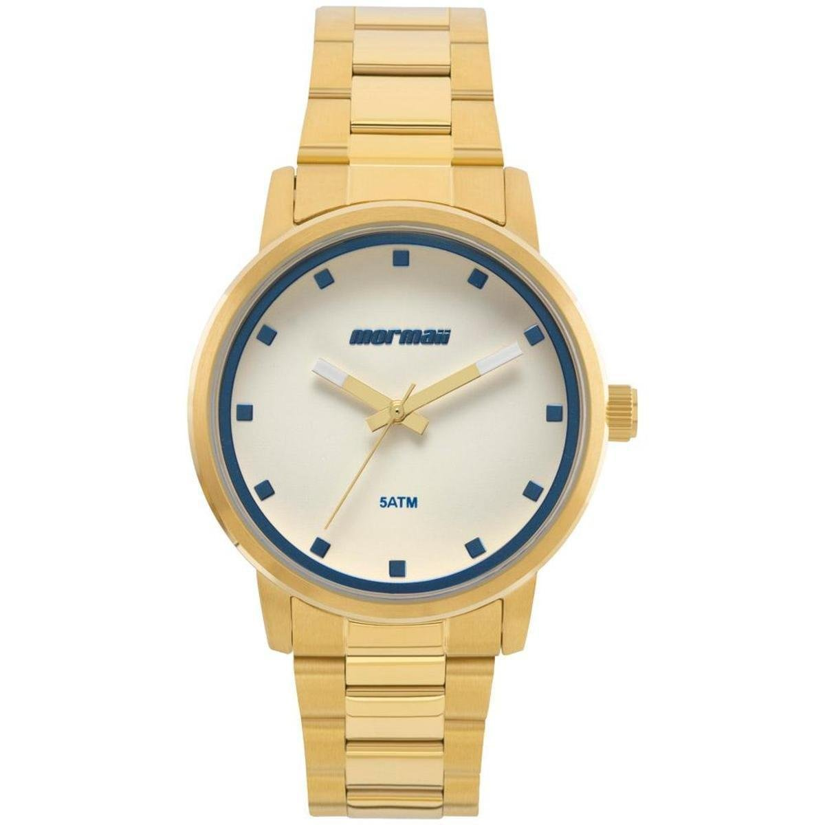 ad19f72703ee9 Relógio Mormaii Feminino Mauii- Mo2035ja 4a - Dourado - Compre Agora ...