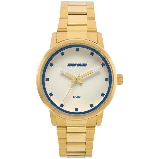 Relógio Mormaii Feminino Mauii- Mo2035ja/4a - Dourado