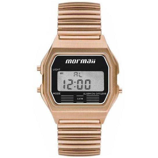 Relógio Mormaii Feminino Retro Rose Mojh02ax/4j - Dourado