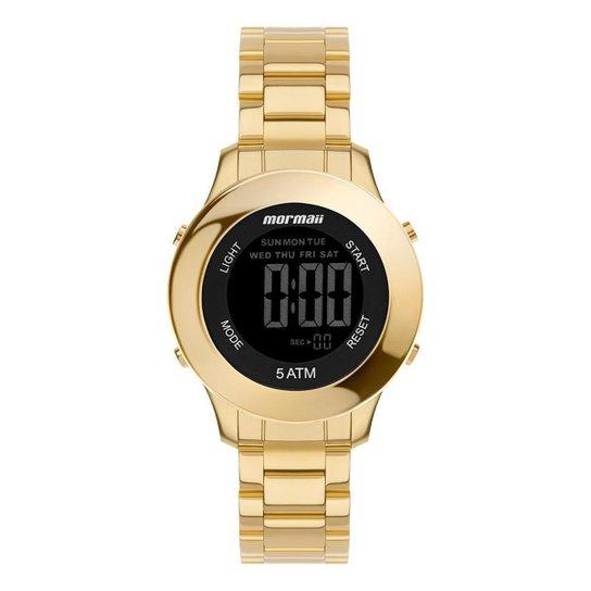 Relógio Mormaii Feminino Steel Dourado MO4219AC7D - Dourado
