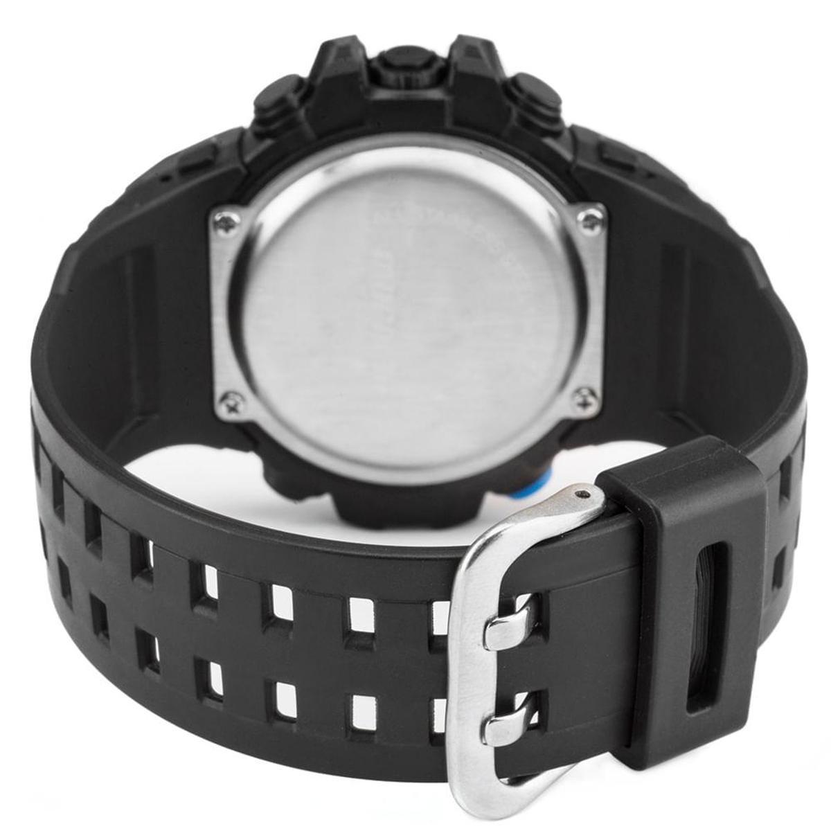 Relógio Mormaii Masculino Wave - MO9451 8A MO9451 8A - Preto ... 0a55463e6f