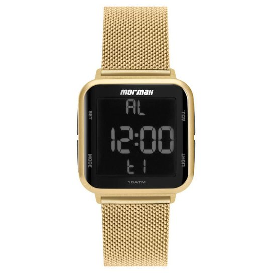 Relógio Mormaii Wave Aço Feminino - Dourado