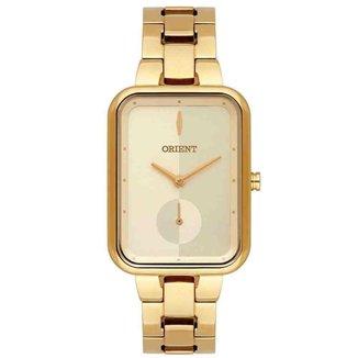 Relógio Orient Feminino Dourado LGSS0057 C1KX