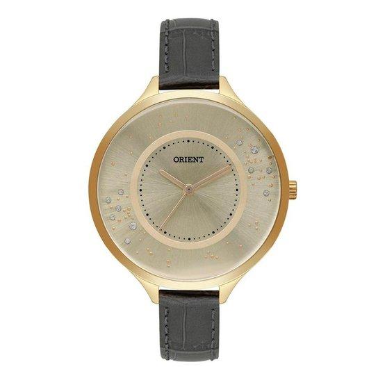 Relógio Orient Feminino Unique Dourado FGSC0022-C1GX - Dourado