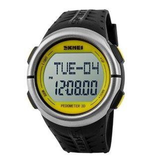 Relógio Pedômetro Skmei Digital