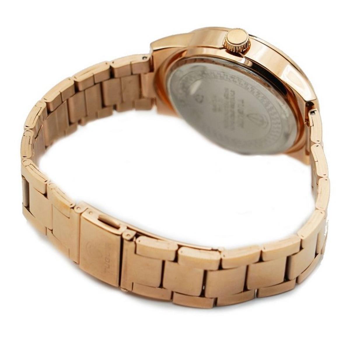 77209d8ce5f Relógio Romaplac Tuguir Analógico Feminino - Dourado - Compre Agora ...