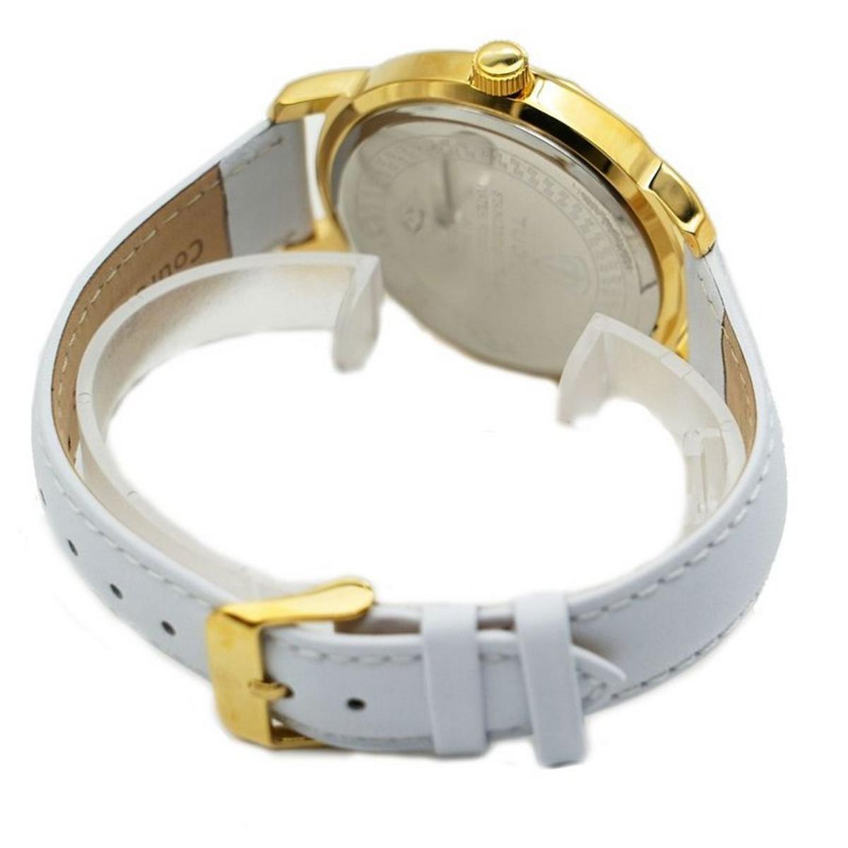 133e27a2283 Relógio Romaplac Tuguir Analógico Feminino - Dourado e Branco ...