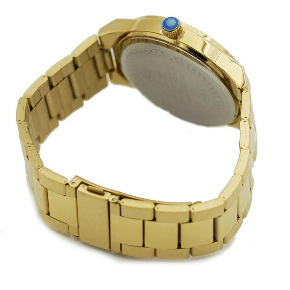 b8db85029a8 Relógio Romaplac Tuguir Analógico - Dourado - Compre Agora