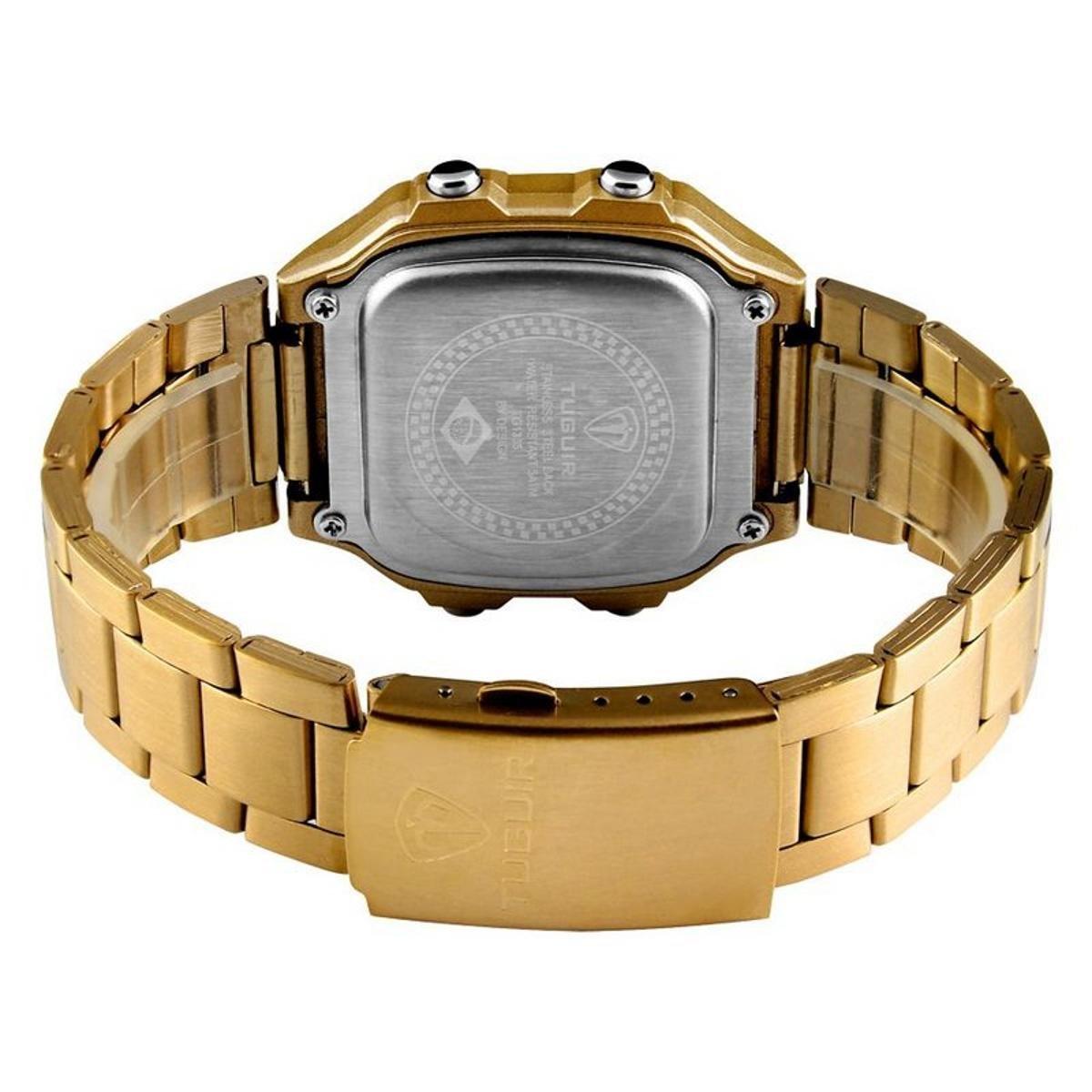 c55dfb48798 Relógio Romaplac Tuguir Digital - Dourado - Compre Agora
