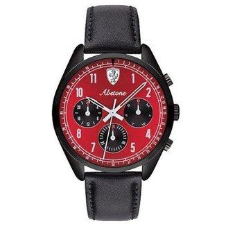 Relógio Scuderia Couro Ferrari Masculino