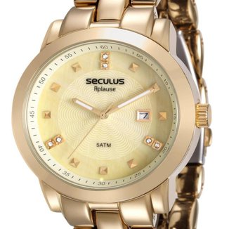 Relógio Seculus Analógico 20422Lpsvda1 Feminino