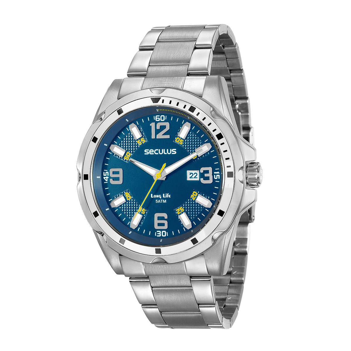 84aa85dc1 Relógio Seculus Analógico 20575G0SVNA2 Masculino - Compre Agora ...