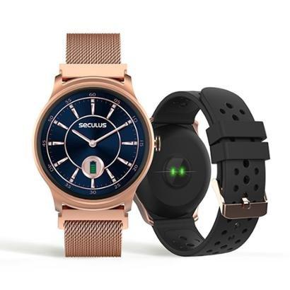 Relógio Seculus Smartwatch 49mm Aço