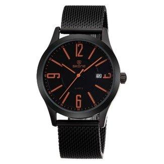 Relógio Skone Analógico 7347BG