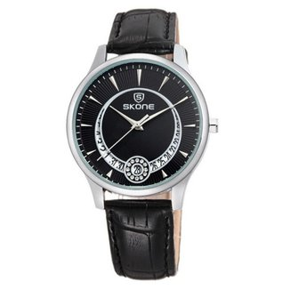 Relógio Skone Analógico 9242BG