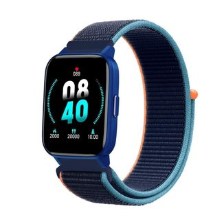 Relógio Smartwatch Mondaine Connect 16001M0MVNG3 35mm Nylon Azul