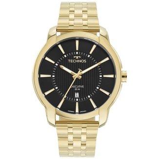 Relógio Technos Classic Executive Dourado 2117LDJ1P Masculino
