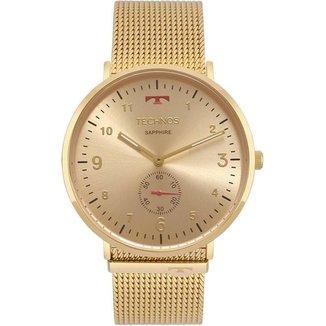 Relógio Technos Classic Slim Dourado 1L45AXS4A Feminino