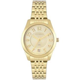 Relógio Technos Elegance Boutique Dourado 2115KNJS4X Feminino