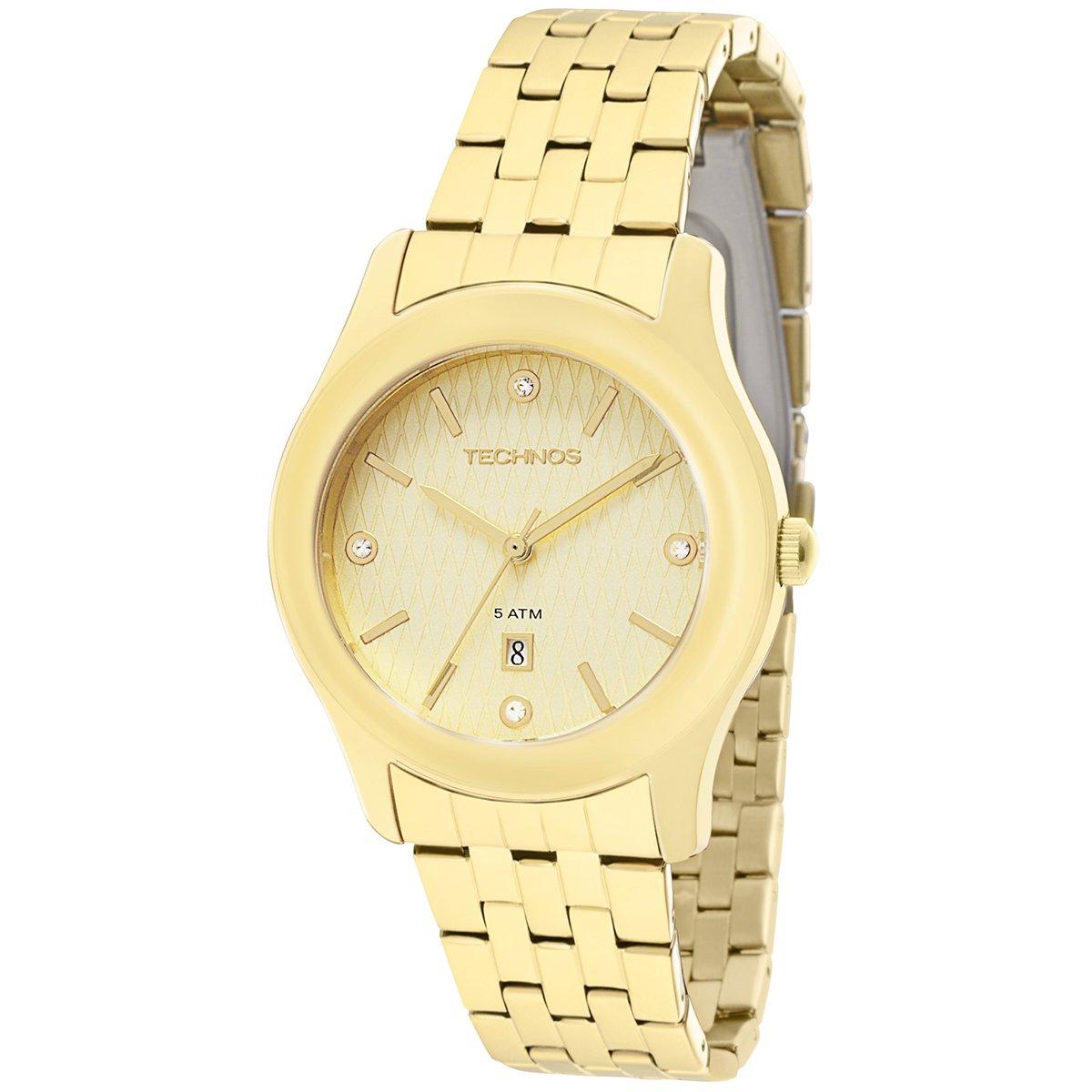 a0e18254391 Relógio Technos Elegance Ladies - Dourado - Compre Agora