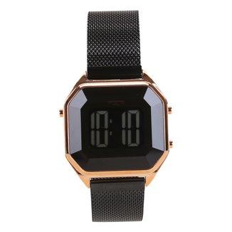 Relógio Technos Feminino BJ3851AM/4P Digital